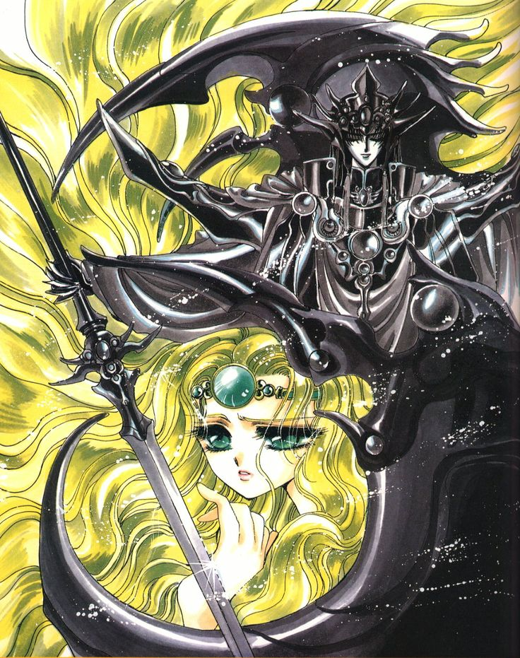 Magic Knight Rayearth (Seriously, you have no idea how much this plot twist ruined my life. Talk about a crash course in troping!)