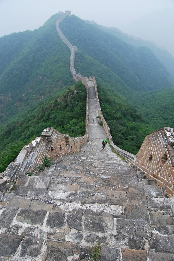 great wall at huanghuacheng china great wall of china on the great wall of china id=66486