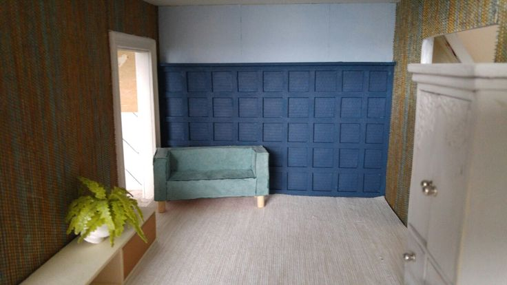 Bedroom backwall board