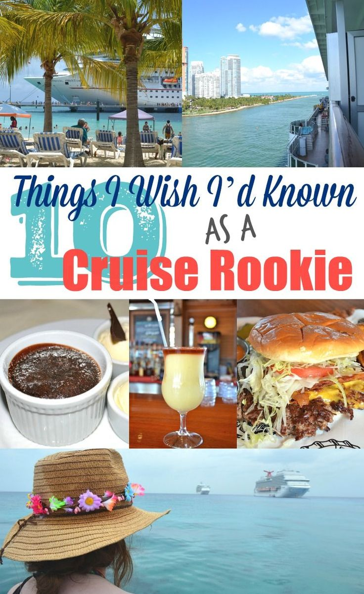 cruise rookie tips