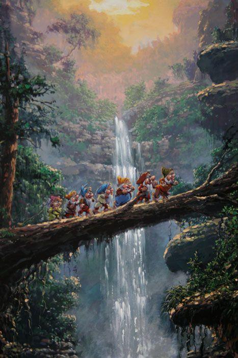 The Journey Home Rodel Gonzalez Disney Fine Art