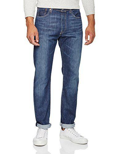 Levi's® Homme Jeans 501® Original Fit Jeans: Jeans Levi's 501, avec des boutons, à l'éfet porté. Composition: 100% coton. La largeur de la…
