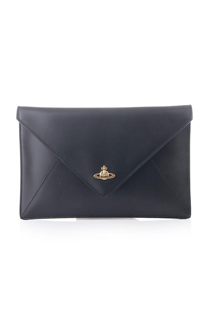 Vivienne Westwood Envelope clutch - Black https://www.blueberries-online.com/brandcategorylanding/751/332/vivienne-westwood-bags-accessories/vivienne-westwood-bags-accessories.html