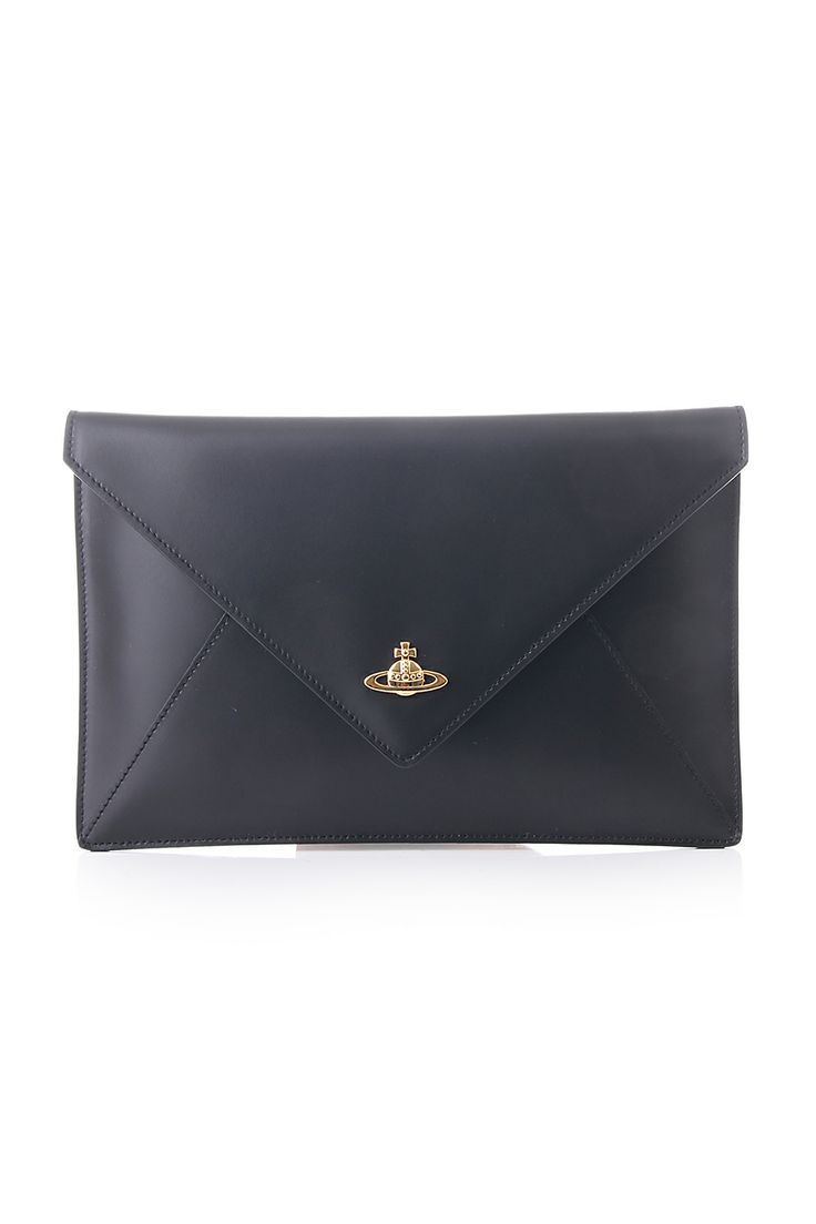 Vivienne Westwood Envelope clutch - Black https://www.blueberries-online.com/brandcategorylanding/751/332/vivienne-westwood-bags-accessories/vivienne-westwood-bags-accessories.html