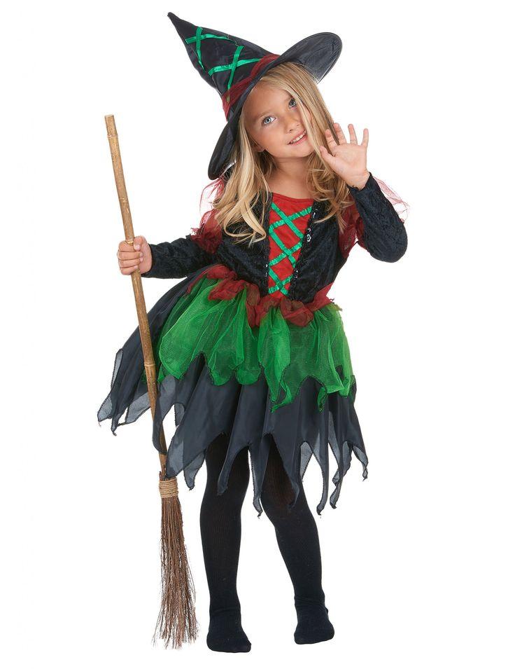 17 mejores ideas sobre disfraz de bruja en pinterest - Disfraz de reno nina ...