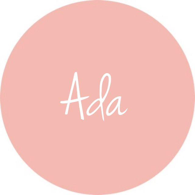 Ada - short and sweet baby girl name!