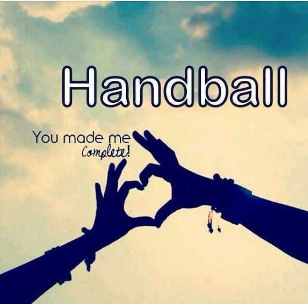 Handball plus qu'une passion.