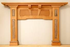 Image result for fireplace mantel craftsman style