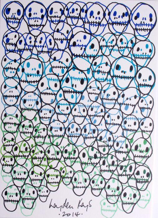 Een uniek en origineel werk van Young British Artist Hayden Kays. In zeer heldere kleuren uitgevoerd en gesigneerd door de kunstenaar zelf. Unica!  Dit werk wordt geleverd met handgeschreven en gesigneerd COA door Hayden Kays zelf.  Originele stifftekening  Formaat: A4  Gesigneerd en gedateerd door Hayden kays  Hayden Kays is een jonge streetart-kunstenaar uit Londen behorende tot de stroming: Young British Artists. Hij heeft inmiddels al internationale bekendheid verworven. De godfather van…