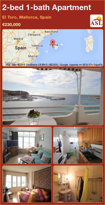 2-bed 1-bath Apartment in El Toro, Mallorca, Spain ►€230,000 #PropertyForSaleInSpain
