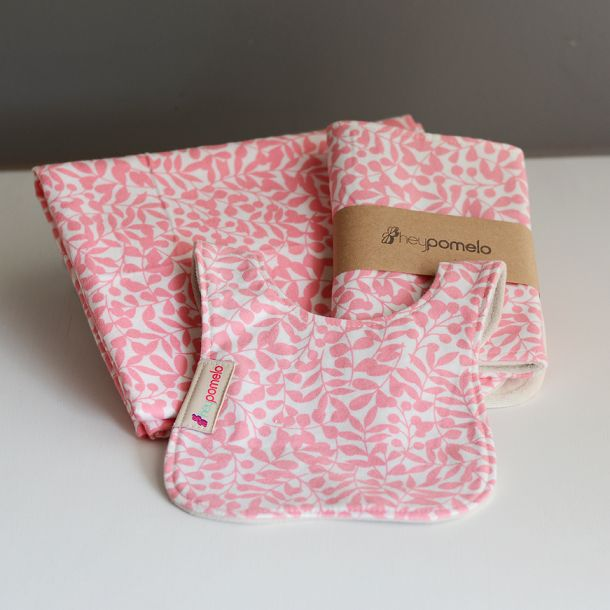 FLANNEL GIFT SET - PINK IVY created by HEY POMELO