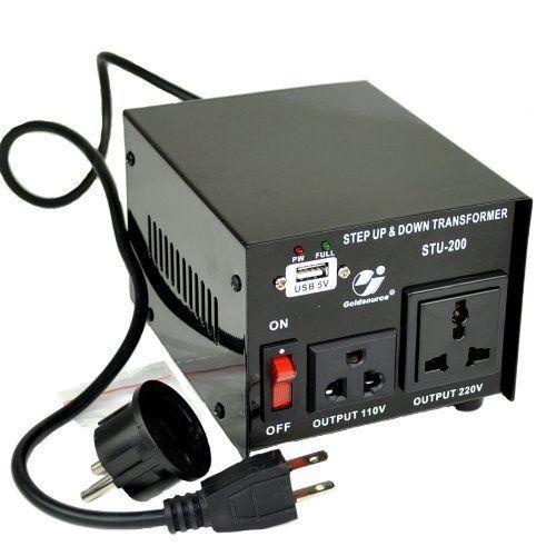 Goldsource Stu 200 Step Up Down Voltage Transformer 400 x 300