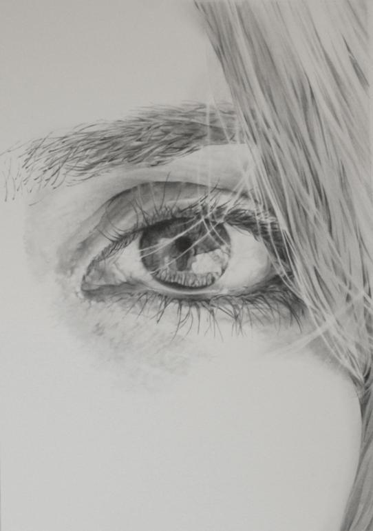 Saatchi Online Artist: james baldwin; Pencil, 2010, Drawing Suzanne