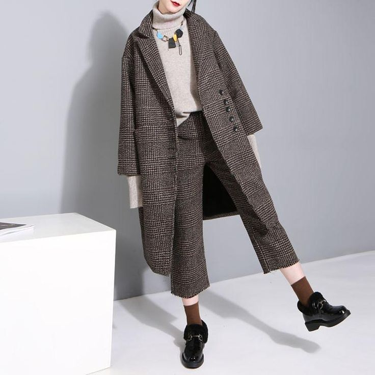 OHHEYGIRL $$-$$$ WL | Checked trousers, Jackets, Trousers
