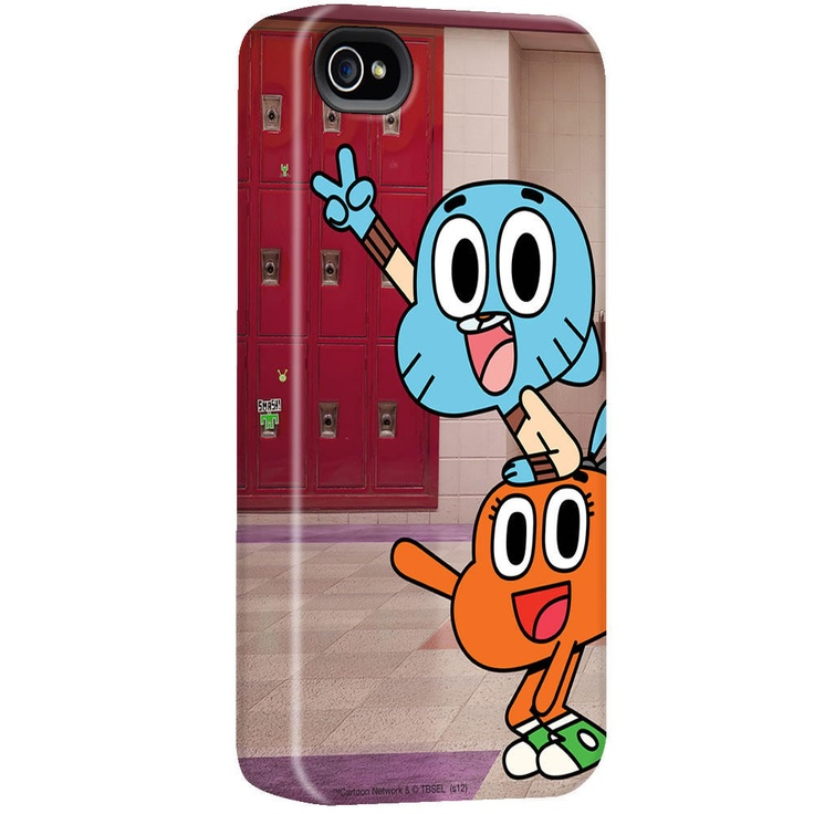 The Amazing World of Gumball Darwin and Gumball iPhone Case - Sale $29.71