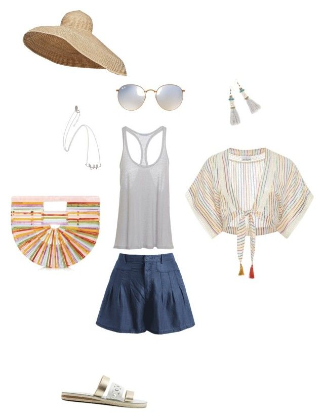 """""""Untitled #108"""" by susan-v on Polyvore featuring Miguelina, Lola, Ray-Ban and Cult Gaia"""