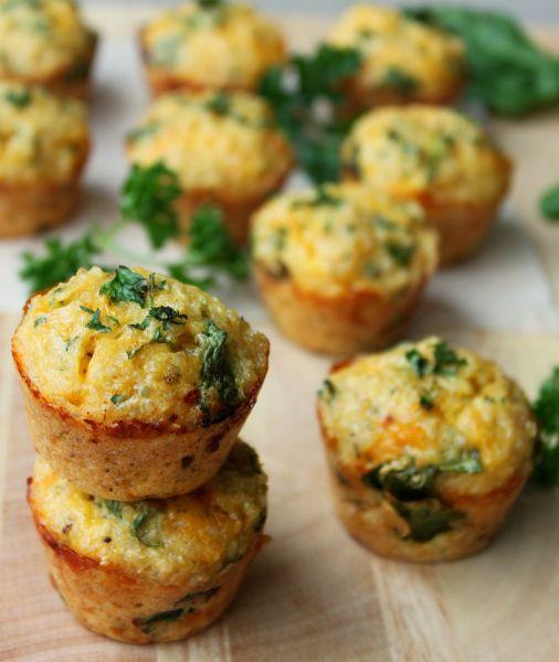 FODMAP Friendly & Gluten free - Quinoa Spinach Omelette Bites