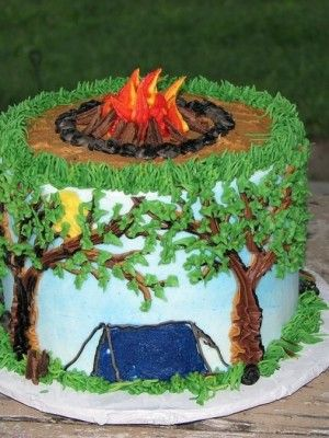 Top Camping Cakes - Top Cakes - Cake Central