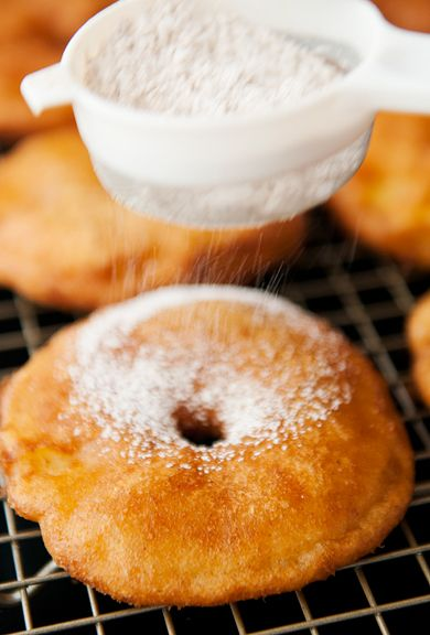 Apple Fritters - they look DELISH!