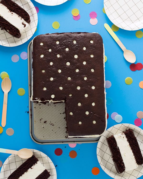 Giant Ice Cream Sandwich Cake Recipe | Oh Happy Day!