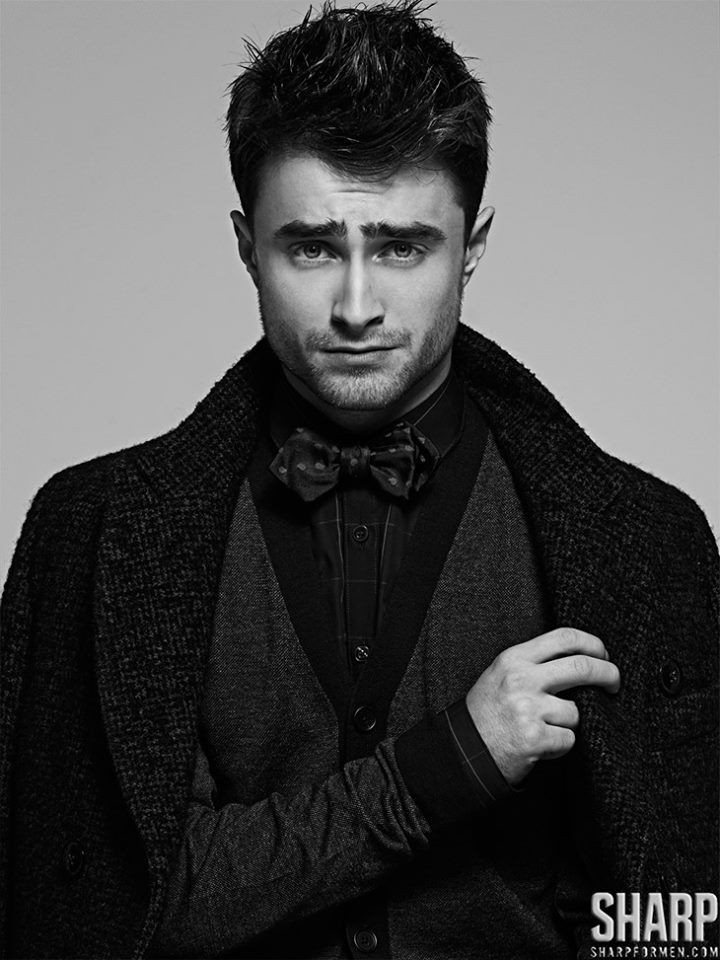 Daniel Radcliffe by Matthew Lyn for SHARP Magazine. Ohmygod, this actually made me gasp.