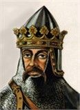 FULK The Rude Leader of one of the crusades, crowned King of Jerusalem in 1113. Father of Geoffrey le Plantagenet, who married Matilda, the heiress of Henry I of England.