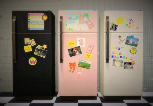 My Sims 4 Blog: Windows, Doors, Fridge and More Recolors by Budgie2budgie
