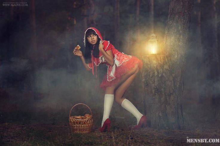 #красная #шапочка #серый #волк   - Красная Шапочка! - воскликнул Серый Волк. - Серая шубка! - воскликнула девочка.