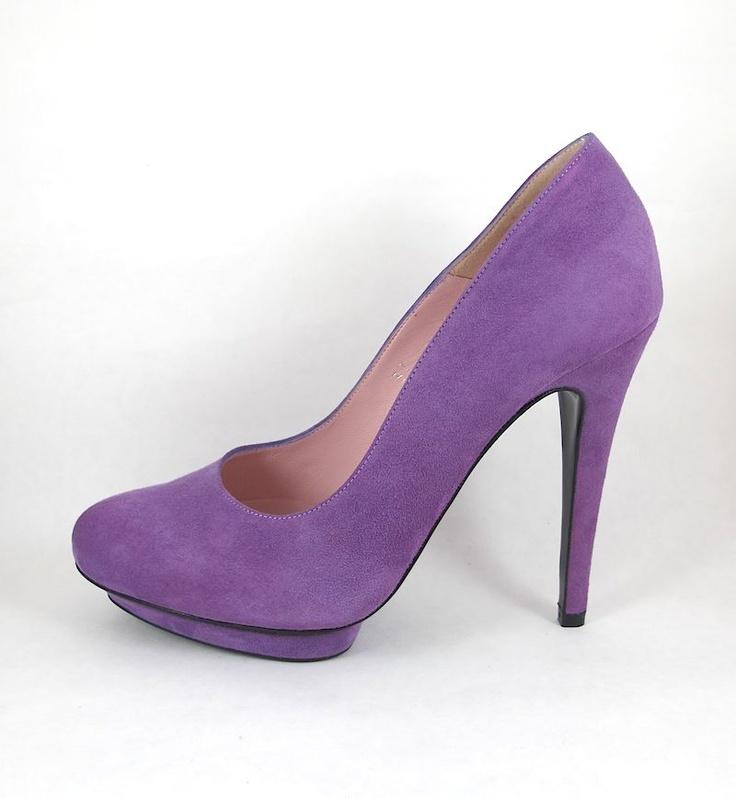 Ingunn Birkeland Oslo - IBO shoes - Morado - Handmade in Spain