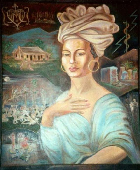 Marie Laveau by Charles Gandolfo.