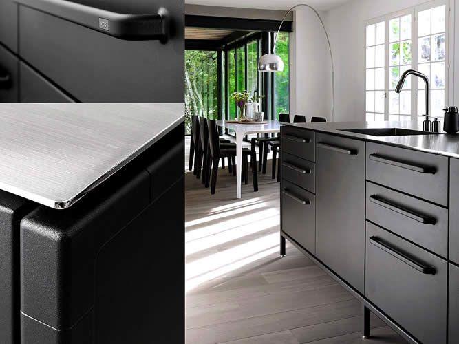 Tendências em decoração de cozinhas 2017 cozinha preta