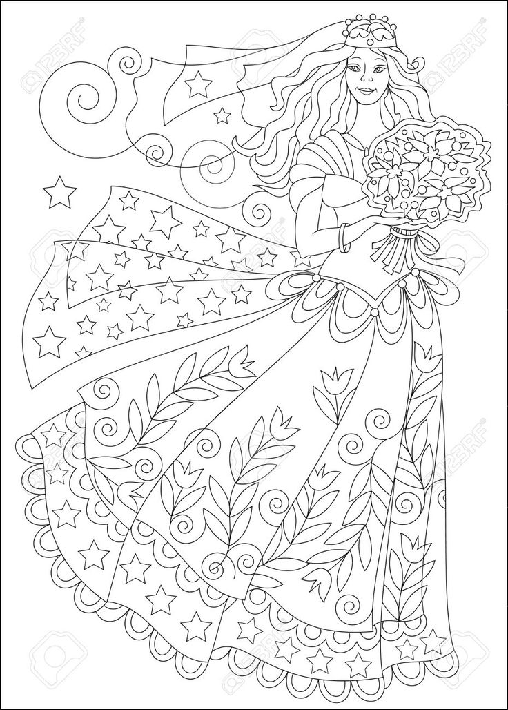 79 Best Fairy Colouring Pages Images On Pinterest