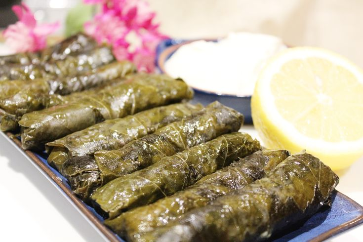 Vegetarian Stuffed Grape Leaves // Cook Up a Passion RECIPE: http://cookupapassion.com.au/vegetarian-stuffed-vine-leaves/ A vegetarian, vegan and gluten-free recipe, isn't it awesome? All you need is a little time and patience. It is more easy than it seems and it's a lot of fun to make, too. ♥