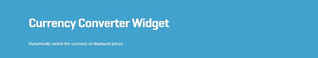 WooCommerce plugins: WooCommerce Currency Converter Widget Extension 1....
