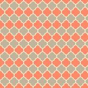 Moorish - coral & dove: Nurseries Fabrics, Fabulous Fabrics, Nurseries Ideas