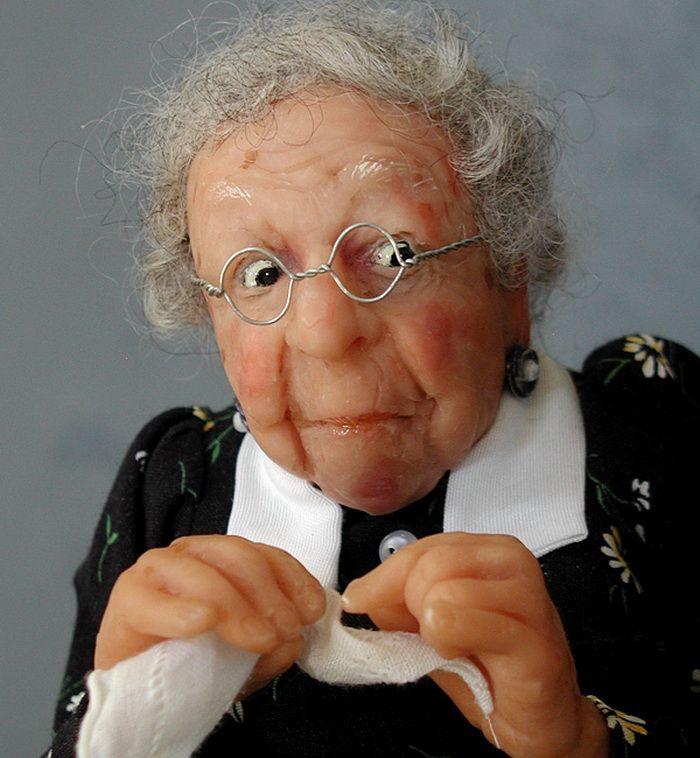 Старая тетка смешные картинки