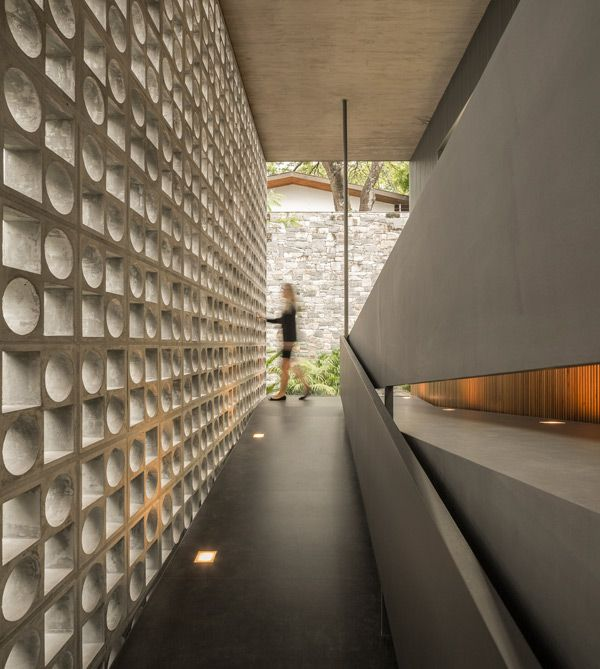 block screens, Studio MK27,architecture,concrete design