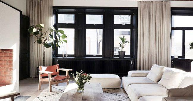 Så+inreder+du+med+svarta+fönsterkarmar