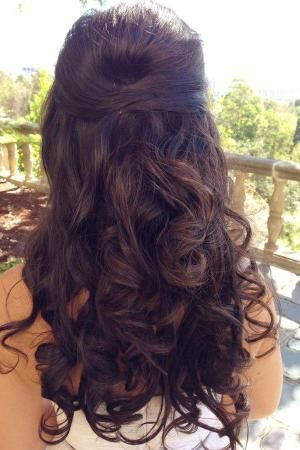 Romantic Pinned Back Prom Hairstyles: Liked This? There