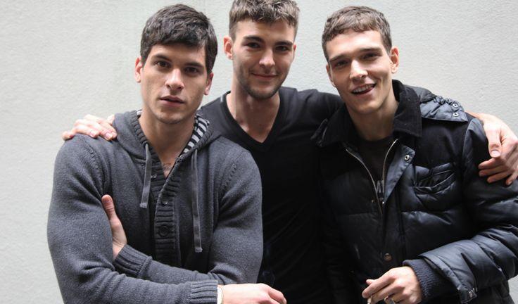 Dolce&Gabbana Fall Winter 2014-15 Mens: Models Casting - Diego Fragoso, Patrick Kafka and Alex Cunha
