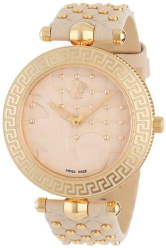 Versace Women's VK7020013 Vanitas Rose Gold Ion-Plated Coated Stainless Steel Interchangeable Straps Watch