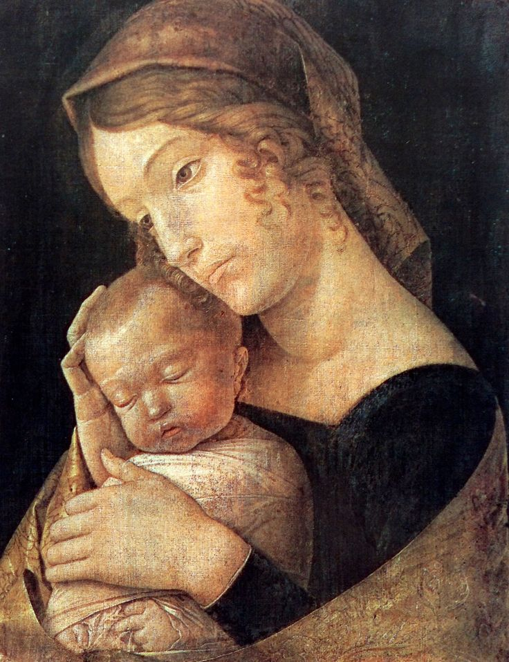 Andrea Mantegna (1465-1506) The Virgin and Child, 1465-1470