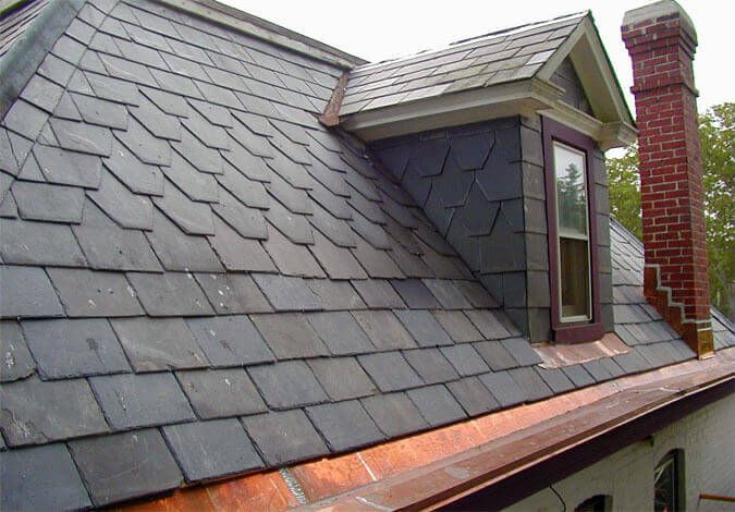 Metal Roof Shingles Manage To Pay For An Unbeatable Concentration Of Standard Style And Exceptional Durability They Replicate The Slate Roof Cool Roof Roofing