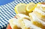 "Lemon squares are one of my favorite summer treats—light, filling and just sweet enough to satisfy the taste buds! Packed in a <a href=""http://www.ziploc.com/Products/Pages/ProductsHome.aspx"" target=""_blank"">Ziploc® Brand Container</a>, they travel brilliantly to the park, the beach or just out to your patio."