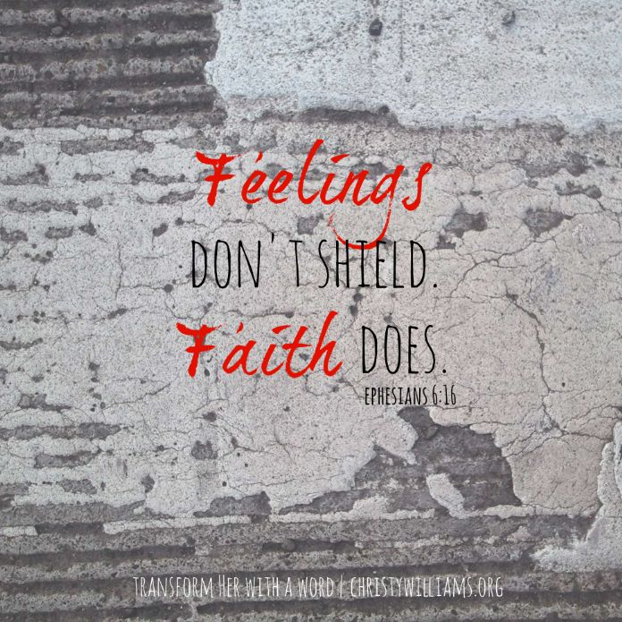 Just read My Feelings and My Faith by my bloggin-friend and colleague Christy Williams!