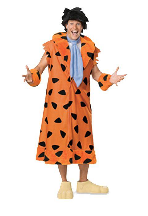 The Flintstones Plush Fred Flintstone Adult Costume #halloween #costumes $46.95