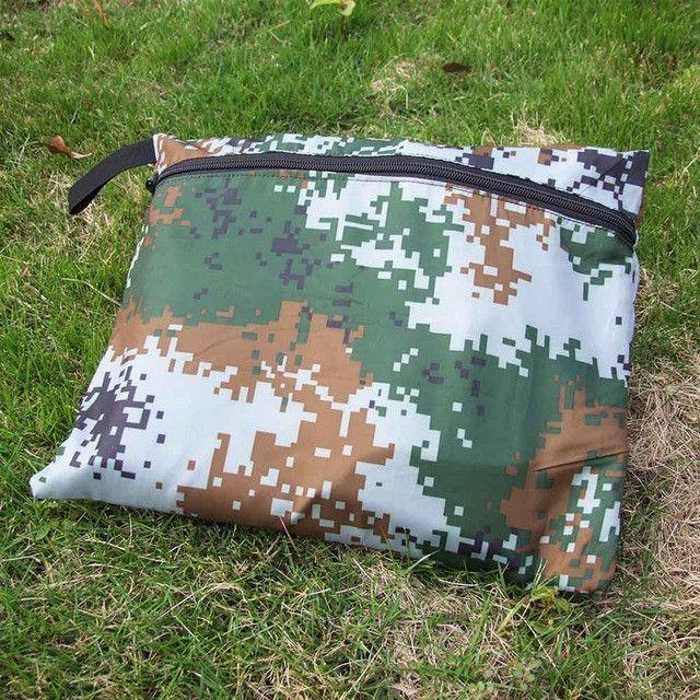 3 * 3m Camouflage C&ing Mat C&ing Tent Outdoor Waterproof Windproof Awning C&ing Mats Mattress Multifunction & 3 * 3m Camouflage Camping Mat Camping Tent Outdoor Waterproof ...