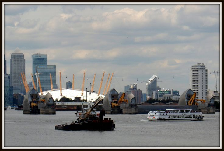 What a view! Woolwich Ferry, Thames Barrier, the o2 and the Docklands Skyline! I love London