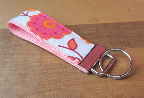 how to make fabric key fobs