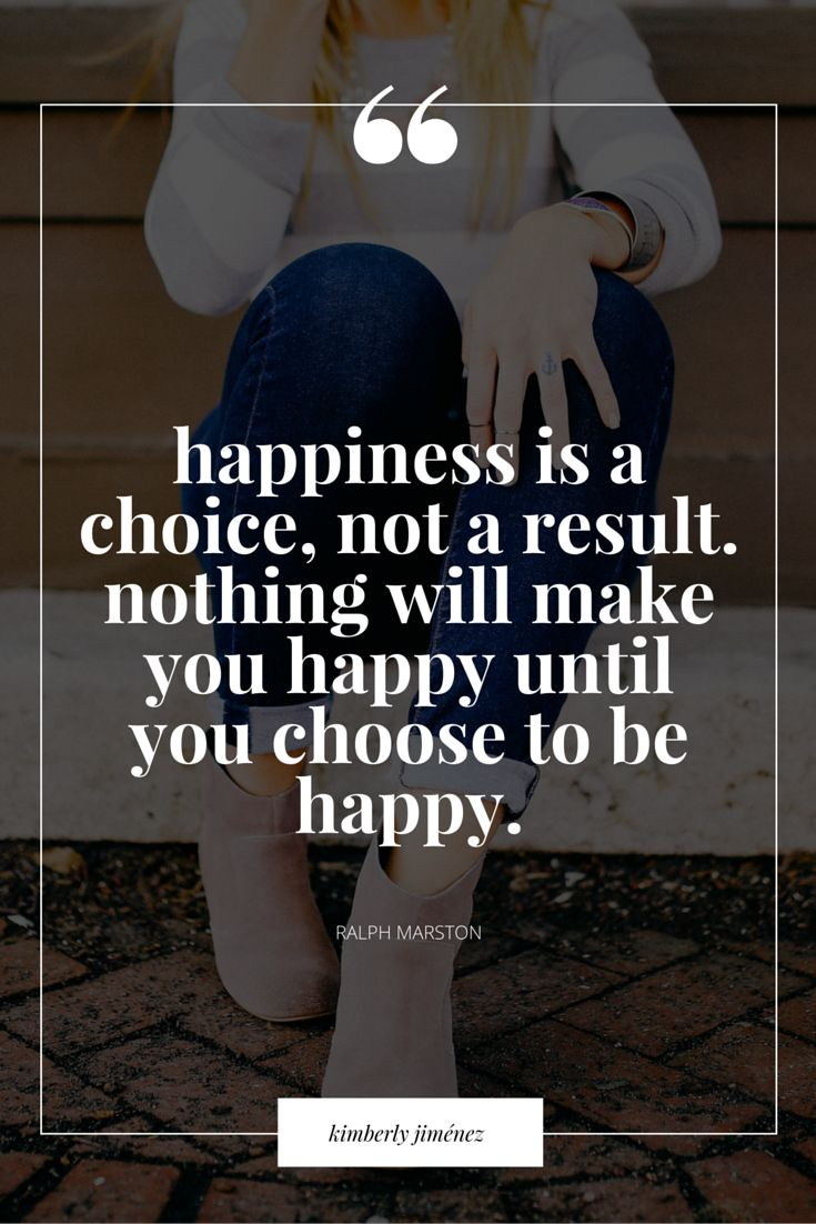Choose To Be Happy Always!